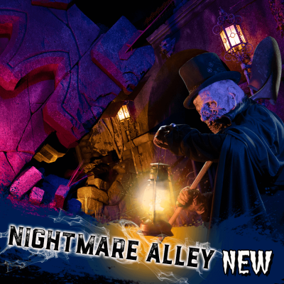 Nightmare On 13th Attraction Nightmare Alley